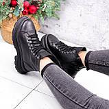 Ботинки женские Chris черные ЗИМА 2684, фото 10