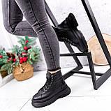Ботинки женские Chris черные ЗИМА 2684, фото 8