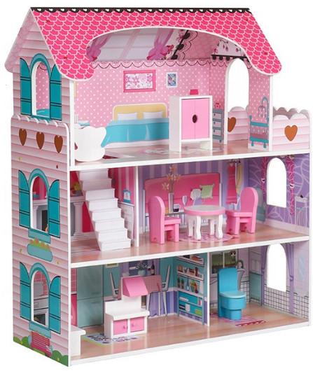 Ляльковий будиночок Флоренція AVKO + 2 ляльки