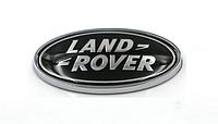 Эмблема шильдик Наклейка Range Rover (Рендж Ровер) Land Rover в решетку,багажник 90*49 мм черная