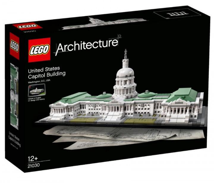 Lego Architecture Капитолий
