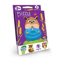 Пазлы для детей «Puzzle для детей», развивающие, в кор.9*2,5*13см