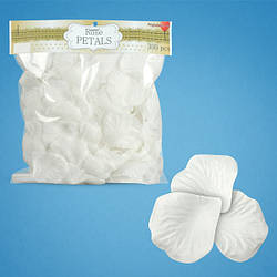 Лепестки роз (белые), 300 шт