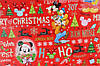 """Новогодняя бумага для упаковки подарков «Новогодняя Ёлка"""" 10шт, фото 4"""