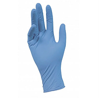 Перчатки нитриловые Medicom XS неопудренные текстурированные 50 пар Голубые (КОД:MAS20006)