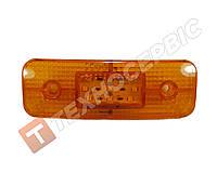 Фонарь габаритов 12-24v желтый 9LED маркерный прицепа светодиодный (пр-во Турция)