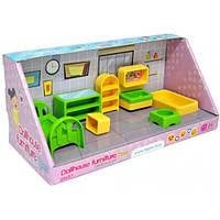 Мебель для кукол, спальня, набор 7 элементов, в кор. 30*13*13см, ТМ Wader