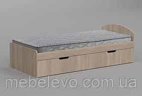 кровать 90+2 650х944х2042мм  90х200  Компанит