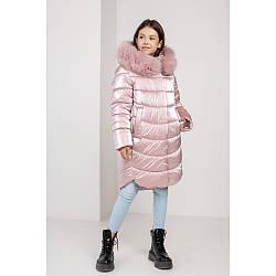 Модна куртка кольору пудри