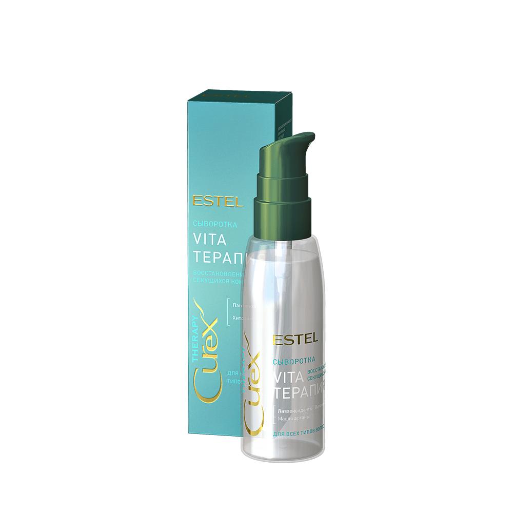 Сыворотка Vita терапия Estel CUREX THERAPY для секущихся кончиков волос
