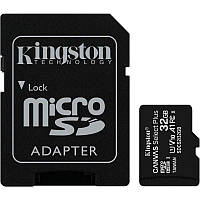 Карта памяти microSDHC 32Gb KIngston Canvas Select Plus A1 (UHS-1) (R-100Mb/s) + Adapter SD