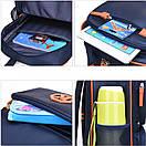 Школьный рюкзак подростковый средней школы с карманами School 5 6 7 класс, фото 5
