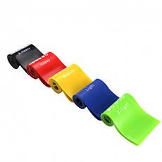 Набор лент-эспандеров резинок для фитнеса UPowex 5 шт Разноцветные (R0231), фото 2