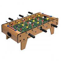 Настольный Футбол Limo Toy 2035N на штангах деревянный 69х58х23 см (int_2035)