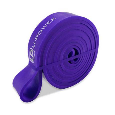 Гумова петля для фітнесу UPowex 16-38 кг Фіолетова (RI0248), фото 2