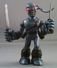 Набор мини-фигурок Донателло и Фут Ниндзя - Donatello and Foot Tech Ninja, 4Kids, 7 см, Playmates (143185), фото 2