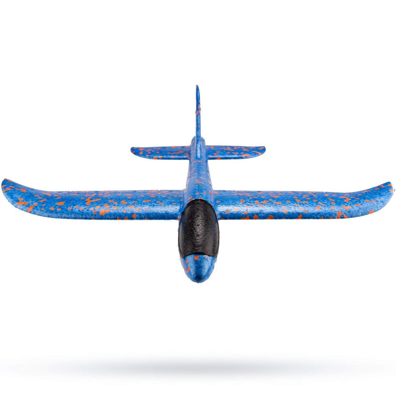 Метательный самолет на дальнее расстояние Синий (R0575)