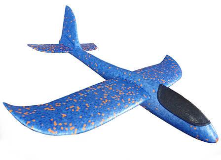 Метательный самолет на дальнее расстояние Синий (R0575), фото 2