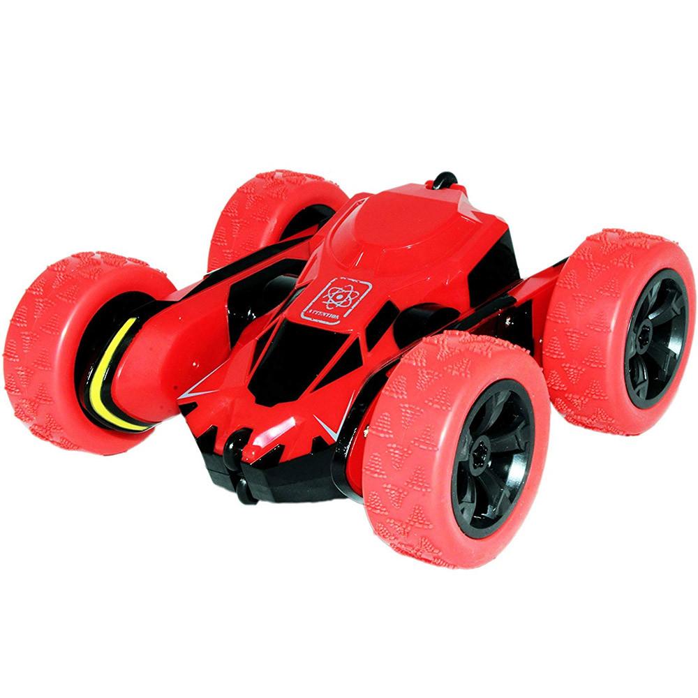 Машина - перевёртыш Atom Max на аккумуляторе Красная (RI0330)