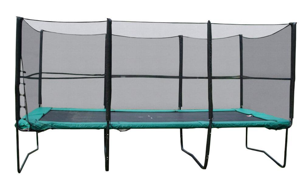 Прямоугольный батут KIDIGO 457х305 см. с защитной сеткой + лестница (61026)