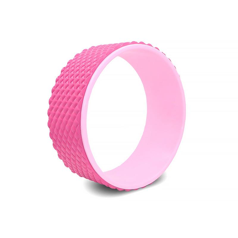Колесо для йоги и фитнеса Dobetters Yoga DBT-Y2 32*13 см Pink