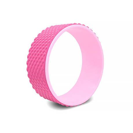 Колесо для йоги и фитнеса Dobetters Yoga DBT-Y2 32*13 см Pink, фото 2