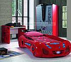 Ліжко машинка Tesla Star червона Туреччина, фото 4
