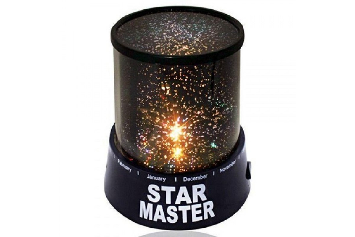 Дитячий нічник зоряного неба Star Master Original Чорний (RI0275)