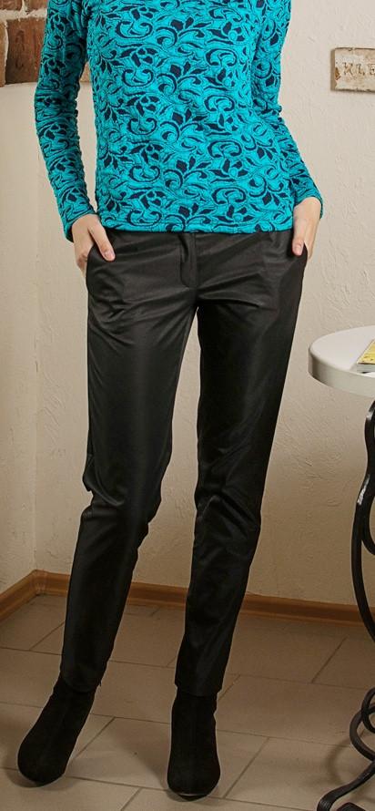 Класичні чорні жіночі штани осінь-зима