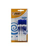 Набір двосторонніх маркерів для дошок (5 шт) Bic 12х1см Синій