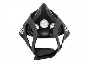 Маска для тренування дихання Training Mask Elevation Чорний, фото 2