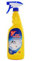 G&G спрей чистящий для ванной, 1 л