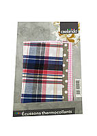 Тканинна нашивка на одяг (3шт) Crelando 19х19см Різнобарвний