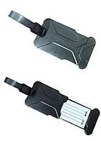 Бирка для багажа Topmove 13х5см/8х5см Черный