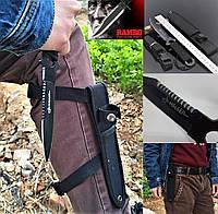 Нож тактический боевой, метательный, туристический, для выживания, с паракодовой рукояткой, скрытого ношения