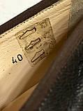 Кожаные стильные деловые женские Туфли на низком каблуке 38 размер, фото 4