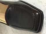 Кожаные стильные деловые женские Туфли на низком каблуке 38 размер, фото 9