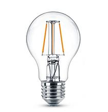 Лампа світлодіодна Philips Filament LED Classic 4-40 Вт A60 E27 830 CL NDAPR