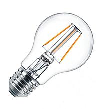 Лампа світлодіодна Philips Filament LED Classic 4-40 Вт A60 E27 865 CL NDAPR