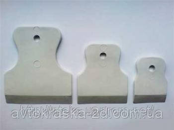 Шпатель резиновый  (набор3 шт. )