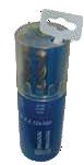 Набор SDS-сверл по бетону, L=110 и 160мм, 6 шт в круглом футляре