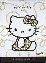 Гофрокартон цветной Hello Kitty Diva, 10 цветов А4, Kite