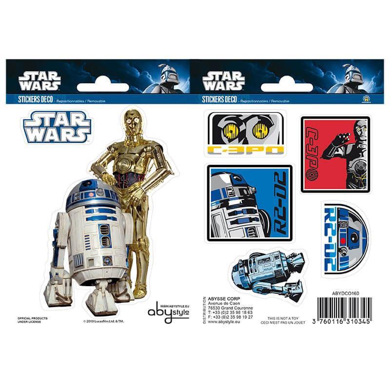 Наклейки Star Wars 16х11 см 2 листа 112062