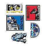 Наклейки Star Wars 16х11 см 2 листа 112062, фото 2
