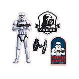 Наклейки Star Wars 16х11 см. 2 листа 112064, фото 2