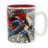 Набор подарочный Супермен чашка, брелок, значок DC Comics 112139, фото 3