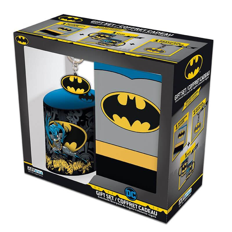Набор подарочный Бэтмен чашка, брелок, блокнот DC Comics 112140