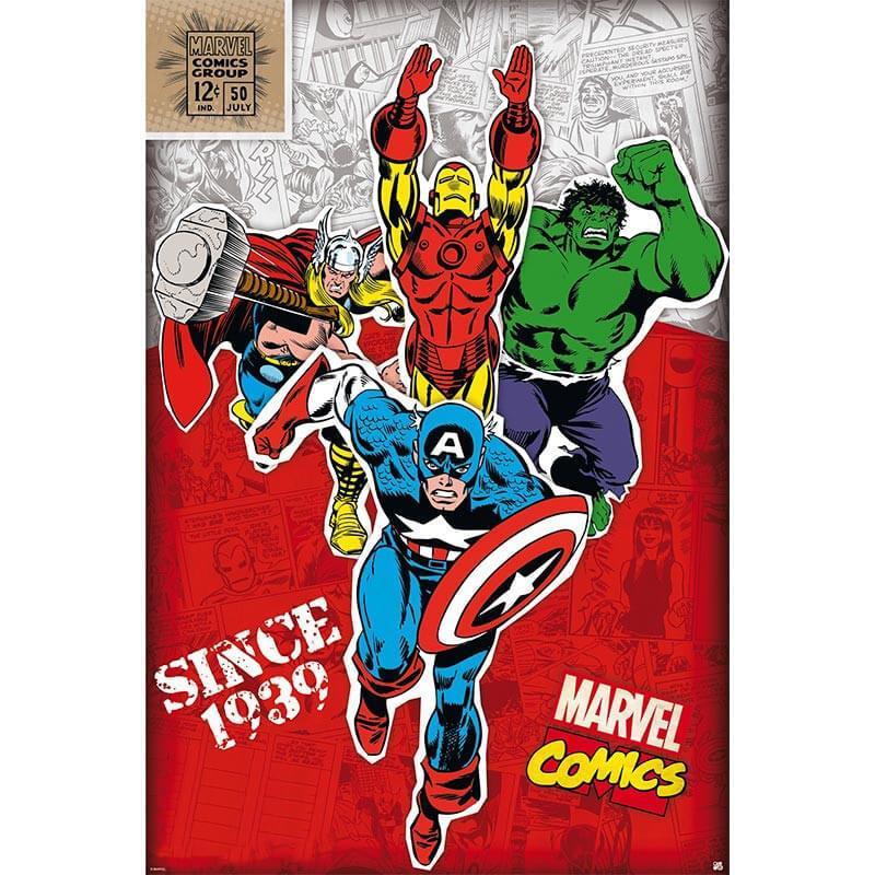 Постер Marvel 91,5x61 см 112086
