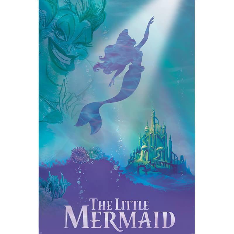 Постер Ариэль и Урсула Disney 91,5x61 см 112120