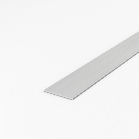 Алюмінієва смуга (шина) шириною 50мм товщиною 2мм анодована